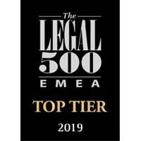 Legal 500 EMEA 2019
